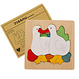 Jigsaw Puzzles 3D Puzzles Building Blocks DIY Toys Animals Wood Model & Building Toy