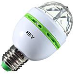 3W Круглые LED лампы 1 Высокомощный LED 200-300 lm RGB V 1 шт.
