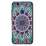 For Huawei P10 Lite P9 Lite Case Cover Mandala Pattern Relief Back Cover Soft TPU P8 Lite 2017