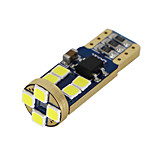 4 XT10 WHITE CANBUS 3030 LED Wedge Car 12 SMD Light Bulb W5W 194 168 2825 192 12-24V