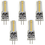 3W Luces LED de Doble Pin T 18 SMD 3014 260 lm Blanco Cálido Blanco Fresco V 5 piezas