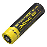 2PCS NITECORE NL1823 2300mAh 3.7V 8.5Wh 18650 Li-ion Rechargeable Battery