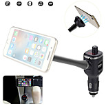 Handsfree Bluetooth FM Transmitter/USB Car 2.1A Charger/Magnet Phone Holder/MP3