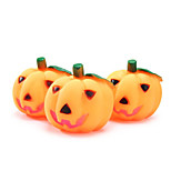 Dog Toy Pet Toys Chew Toy Squeak / Squeaking Pumpkin Rubber