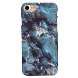 For Apple iPhone 7 7 Plus 6S 6 Plus SE 5S 5 Case Cover Marble Pattern Decal Skin Care Touch PC Material Phone Case
