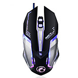 Professional Custom Program Wired Gaming Mouse 4000DPI 6Button LED Optical Computer Game Mouse Mice Gamer For PC Laptop