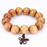 Men's Strand Bracelet Jewelry Natural Fashion Wood Irregular Jewelry For Special Occasion Gift Sports 1pc