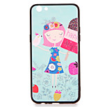 For OPPO R9s  R9s Plus Case Cover Pattern Back Cover Case Gril Cartoon Hard PC R9 R9 Plus