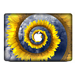 For MacBook Air 11 13/Pro13 15/Pro with Retina13 15/MacBook12 Blooming Chrysanthemum  Decorative Skin Sticker