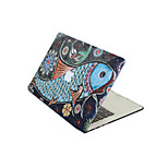 For New MacBook Pro 13 15 Air 11 13 Pro Retina 13 15 Macbook 12 Case Cover PVC Material Oil Painting Fish
