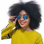 Естественные парики синтетический Без шапочки-основы парики Короткий Черный Волосы