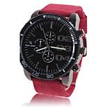 Муж. Нарядные часы С автоподзаводом Крупный циферблат Материал Группа Повседневная Красный Зеленый Темно-синий
