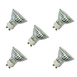 3W LED Spotlight GU10 60 SMD 3528 280-320 Lm White/Warm White AC220-240V 5Pcs