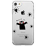 iPhone 7 plusz 7 burkolata környezetbarát átlátszó mintás hátlapot esetben szó / kifejezés szívemet TPU iPhone 6splus 6s 6 5s se 5