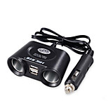 HSC Cat Fast Charge Other 2 USB Ports Charger Only DC 5V/2.4A