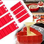 DIY Silicone Cake Mold Bake Snake Four Packs Free Combination Baking Cake Mold
