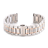 For Gear S2 Classic Band 20mm Five Beads Stainless Steel Strap Replacement Wristbands Smart Strap