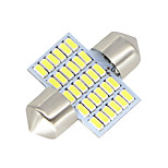 2X-Festoon-31MM-30-SMD-3014-White-LED-Car-Dome-Light-lamp-Bulbs-3021-6428-DE3175 12-24V