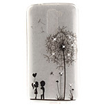 For LG K10 K7 Case Cover Dandelion Pattern HD Painted Drill TPU Material IMD Process High Penetration Phone Case K8