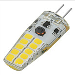 Marsing G4 3W 300lm 20-2835 SMD LED Cold White/Warm White Light Bulb Lamp AC DC 12V(1PCS)