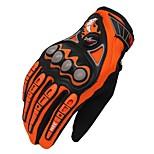 Спортивные перчатки Универсальные Перчатки для велосипедистов Велоперчатки Дышащий Защитный Полный палец Ткань Перчатки для велосипедистов