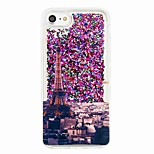 For iPhone 7 7 Plus Flowing Liquid Pattern Case Back Cover Case Eiffel Tower Soft TPU for iPhone 6s 6 Plus SE 5S 5 5C 4S