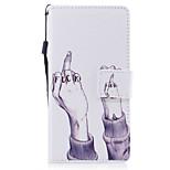 Для huawei p8 lite (2017) p10 чехол для чехлов ручной рисунок окрашенный pu кожа материал карта стент кошелек телефон p10 plus p10 lite