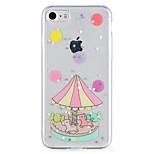 Назначение Чехлы панели С узором Задняя крышка Кейс для Мультипликация Сияние и блеск Мягкий Термопластик для AppleiPhone 7 Plus iPhone 7