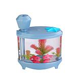 Wt-yg001 usb aquarium luchtbevochtiger fontein verstuiver luchtbevochtiger nachtlicht