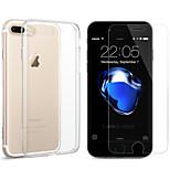Esr for apple iphone 7 plus protector de pantalla vidrio templado 3d protector de pantalla frontal anti con 1pcs teléfono caso
