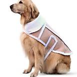 Собака Жилет Одежда для собак На каждый день Сплошной цвет Хаки
