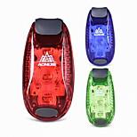 LED Sykling Lumens Batteri Blå rød Grønn Camping/Vandring/Grotte Udforskning Sykling Multifunktion