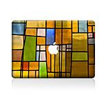 1 ед. Защита от царапин Масляные картины Прозрачный пластик Стикер для корпуса Узор ДляMacBook Pro 15'' with Retina MacBook Pro 15 ''