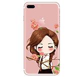 Étui pour iphone 7 7 plus dessin animé tpu douce couverture arrière pour iphone 6 plus 6s plus iphone 5 se 5s 5c 4s
