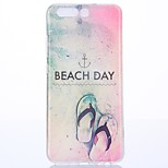 For Huawei P10 TPU Beach shoes Case Cover protective cover