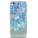 For Huawei P8 Lite (2017) P9 Lite Phone Case TPU Material Leaves Pattern Relief Phone Case P8 Lite
