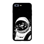 For iPhone 7 Plus 7 Case Cover Pattern Back Cover Case Animal Cartoon Soft Acrylic for iPhone 6s Plus 6 Plus 6s 6 5s SE 5