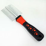 Cat Dog Grooming Brush Comb Portable Random Color