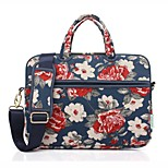for Touch Bar Macbook Pro 13.3/15.4 Macbook Pro 13.3/15.4 Macbook Air 13.3 Rose Pattern Computer Bag Handbag Messenger Bag and Universal 13.3-15.6