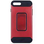 Voor apple iphone 7 7 plus 6s 6 plus se 5s 5 case cover de nieuwe pc materiaal carbon fiber combo drop armor telefoon hoesje