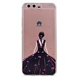 Для huawei p10 p10 lite phone case сексуальная девушка шаблон мягкий материал для телефона tpu телефон p10 plus p8 lite (2017)