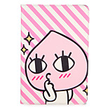 Para apple ipad (2017) pro 9.7 '' capa capa com stand flip pattern corpo inteiro cartoon hard pu couro ar 2 air ipad2 3 4 mini1 2 3/4