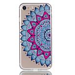 Для яблока iphone 7 7 плюс 6s 6 плюс чехол чехол datura flowers узор рельефный лак tpu материал не выцветает корпус телефона
