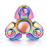 Fidget spinners Hilandero de mano Peonza Juguetes Juguetes Spinner de anillo Metal EDCAlivio del estrés y la ansiedad Juguete del foco