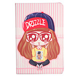 For Apple iPad (2017) Pro 9.7'' Case Cover with Stand Flip Pattern Full Body Case Sexy Lady Cartoon Hard PU Leather  Air 2 Air ipad2 3 4