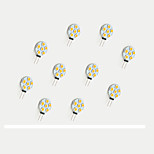 1.1W LED Crystal Light G4 6SMD 5050 White/Warm White DC12V 10Pcs