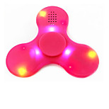 Fingertip Gyroscope Bluetooth Speaker LED Flash Light Hand Spinner