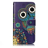 For Huawei P10 Lite P10 Phone Case Owl Pattern Varnishing Process PU Leather Material Phone Case P10 Plus P9 Lite P8 Lite 2017 P8 Lite