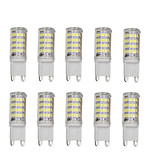®Shenmeile 10pcs G9 52LED SMD2835 3W 300-400LM AC 100V-240V No Flicker Warm White/White IP65 LED Bi-pin Lights