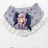 Собака пояс/Бабочка Одежда для собак На каждый день Цветочные/ботанический Желтый Синий Розовый